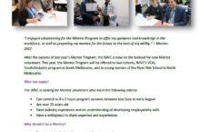 The Mentor Program is back!
